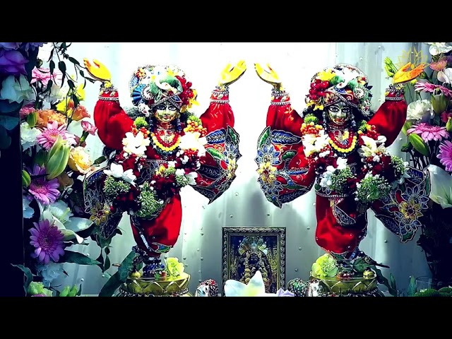 Лекция 1. Дом Шрилы Прабхупады - Шри Вриндаван. 03.08.2021. Е.С. Ананда Вардхана Свами