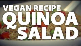 Vegan Recipe - Quinoa Salad
