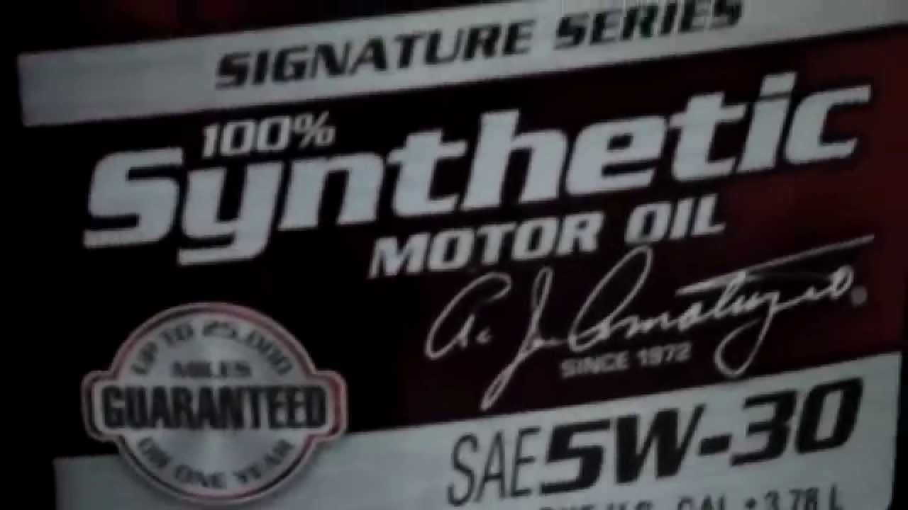 Amsoil 39 s best seller 5w 30 signature series 100 for Amsoil 5w30 signature series 100 synthetic motor oil