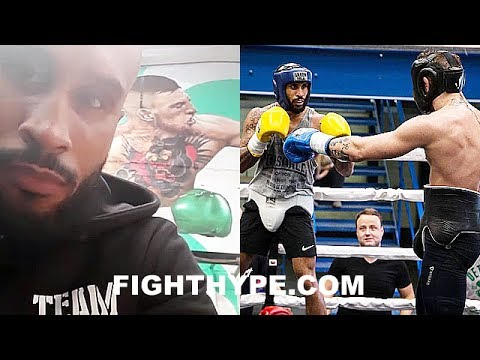 MCGREGOR SPARRING PARTNER ADOLPHE DESCRIBES SPEED, MOVEMENT, & RING IQ; REVEALS WHAT SURPRISED HIM