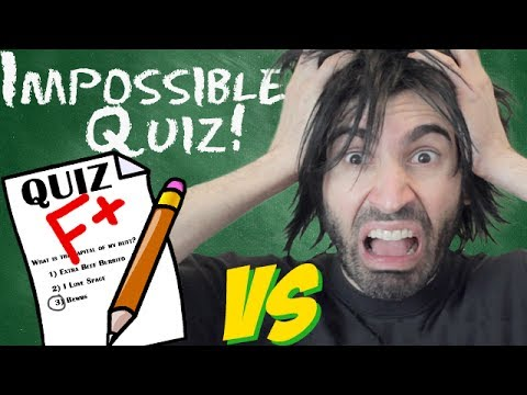 IMPOSSIBLE QUIZ vs The World's Worst Gamer!