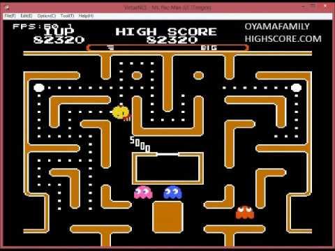 NES Ms  Pacman Tengen ON Normal Big Level 1 353820 points