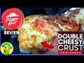 Pizza Hut® | Double Cheesy Crust Pan Pizza | Food Review! 🍕😀👍