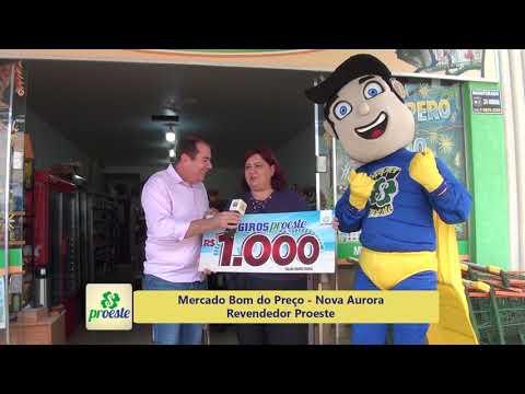 Mercado Bom do Preço Revendedor Proeste 12.01.2019 - Nova Aurora