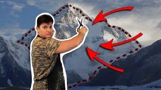 Вырезал кусок горы и вставил в картину? ► Как нарисовать пейзаж Армении.