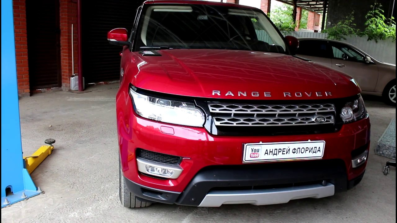 Range Rover Sport Ленд Ровер Спорт 3,0 2014 года Замена среднего рулевого вала