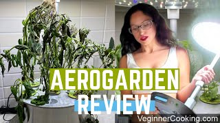 AeroGarden Review | ALL MY PLANTS DIED🤣🌱 #HonestReview #AeroGarden #IndoorGarden - Harvest Elite