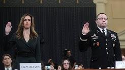 Trump-Zelensky call 'unusual,' aides testify: U.S. impeachment hearings | Day 3 | RAW