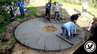 Creative Concrete - Pouring (BUFFALO LAKE UPDATE 3)