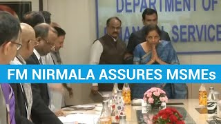2-pronged approach to get MSMEs' dues cleared before Diwali: FM Nirmala