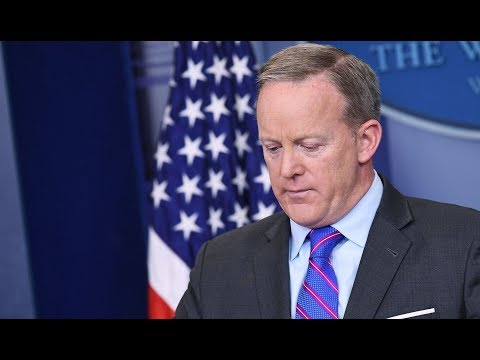 Sean Spicer OUT as White House Press Secretary