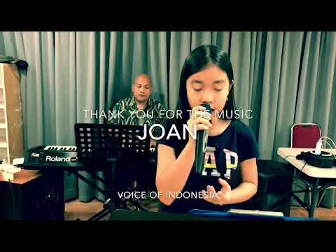 JOAN sings THANK YOU FOR THE MUSIC