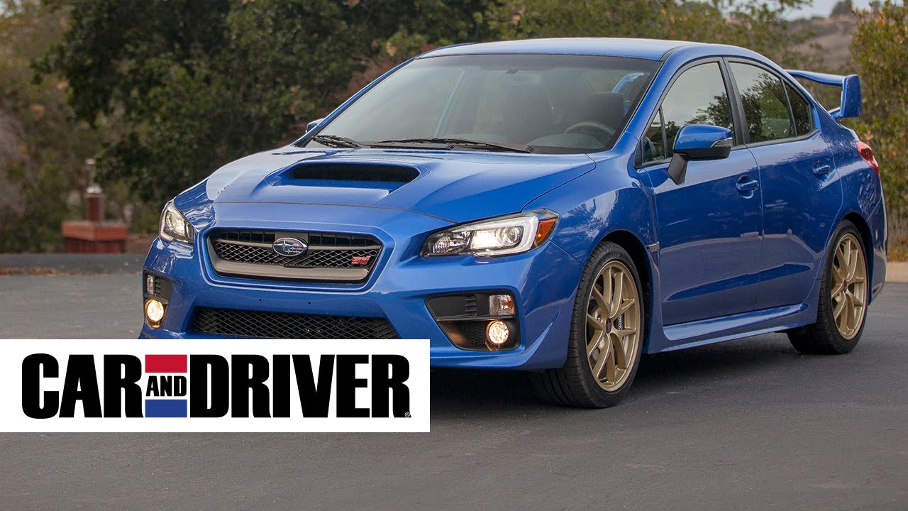 2017 Subaru Wrx Sti Review In 60 Seconds Car And Driver