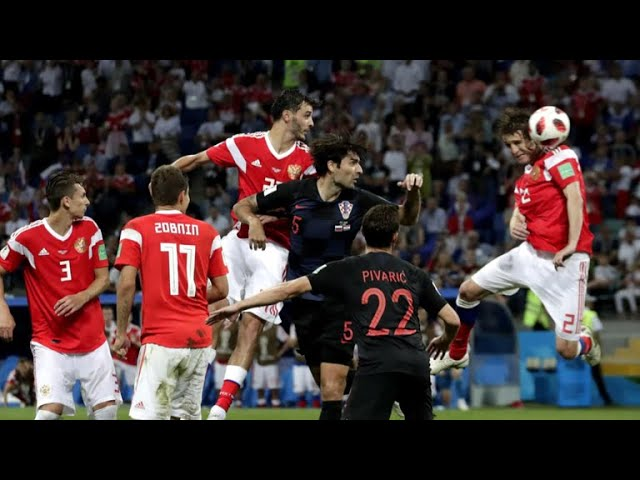 England, Croatia advance to World Cup semifinals
