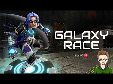 THE START OF SOMETHING GOOD | Galaxy Race #1 | HTC VIVE VR