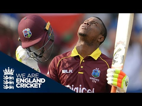 Evin Lewis Hits Incredible 176 Not Out In ODI v England  - Extended Highlights