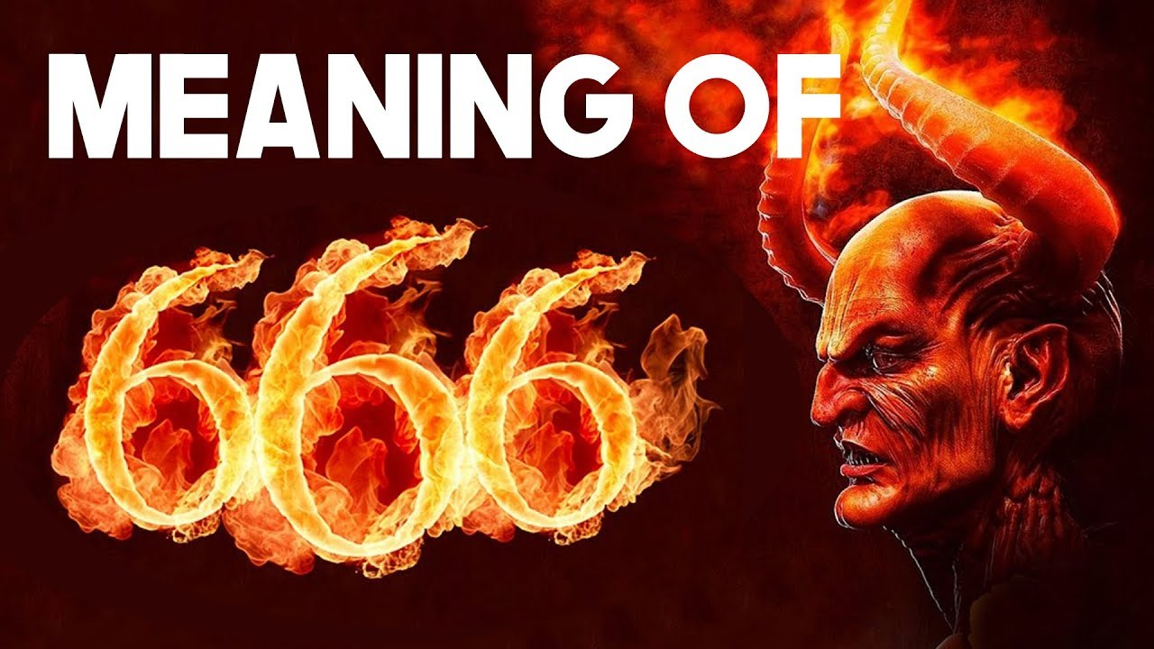 Meaning of 666 - Mark of the Beast Anti-Messiah - Devil's number - Lower Triangle Sufi Meditati