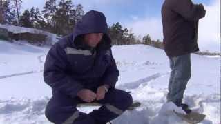 Зимняя рыбалка елец тугун ёрш налим 3 апреля 2013 года.