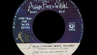 Pink Floyd ~ Another Brick In The Wall 1979 Purrfection Version
