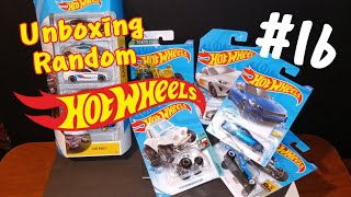 Hot Wheels Random Unboxing! #16