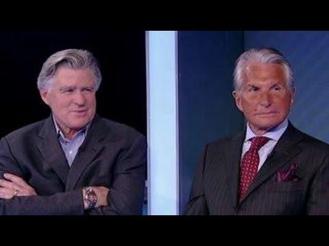 Treat Williams and George Hamilton talk politics