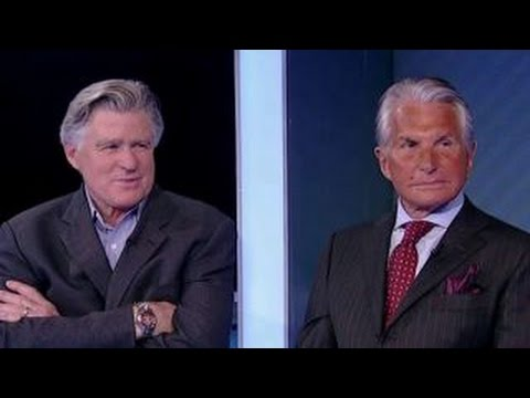 Treat Williams and George Hamilton talk politics