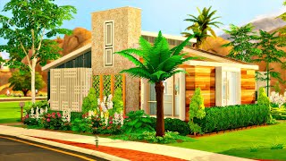 'Raffia Quinta Renovation' (Oasis Springs) 🌴🌵 || The Sims 4 Speed Build (No CC)