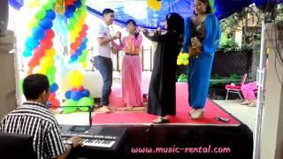 Bang Jono By Vista Putri (Aladin Ala Kadam) w/ Organ Tunggal Mr. Baraboy - Bday Party 5th Al Falah