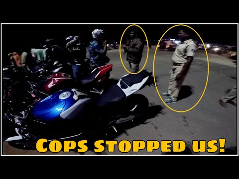 Superbikers Stopped By POLICE | Cops VS Bikers