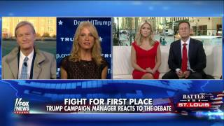 flushyoutube.com-Kellyanne Conway: Trump took Clinton to task over scandals