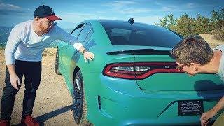 Самый мощный седан в мире? 707 сил, 3.4сек до 100км/ч. Обзор и тест-драйв Dodge Charger Hellcat 2017