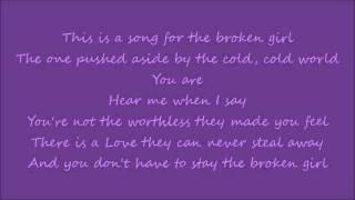Matthew West- Broken Girl (LYRICS!)