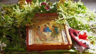 Богослужіння у День Святої Трійці (Володимирський собор)