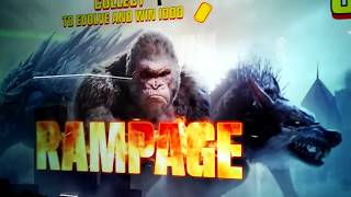 ***new Rampage Arcade Game At Dave And Busters Winning Over 1200 Tickets