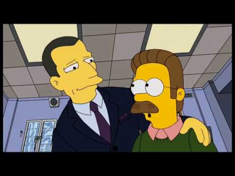 The Simpson: Ned Flanders controls whole Springfield [Clip]