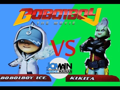 Kikita Vs Boboiboy Ice Arcade Battle Augmented Reality Youtube