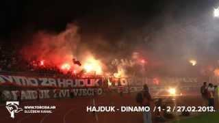 Torcida Split / Hajduk Split - Dinamo Zagreb 1:2 (21. Kolo MAXtv Prva Liga)
