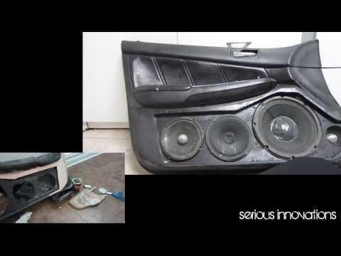 Custom door panels Honda Accord