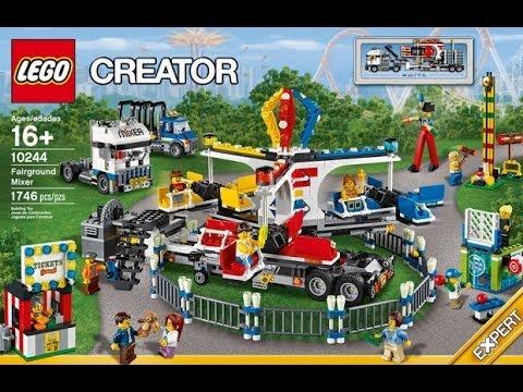 new 2014 lego creator fairground mixer 10244 youtube. Black Bedroom Furniture Sets. Home Design Ideas