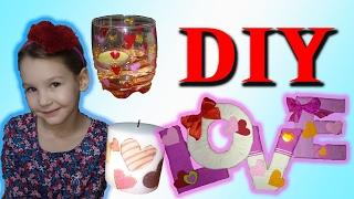 DIY На День Святого Валентина // Валентинки Своими Руками