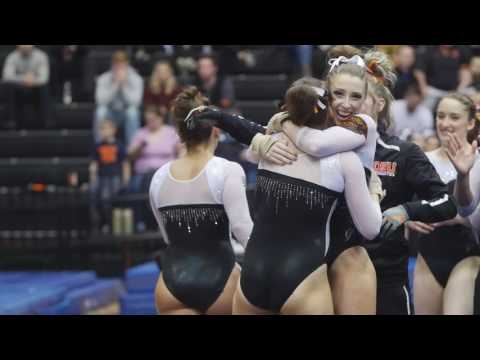 Oregon State Gym vs. Illinois Chicago Senior Night Highlights - 3/11/17