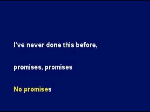 Promises, Promises (Karaoke) -Incubus
