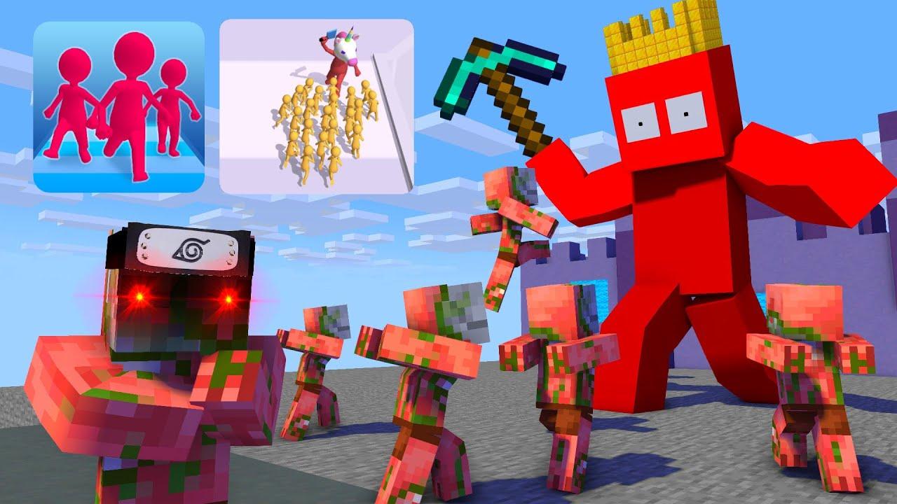 Monster School : Join Clash 3D - Minecraft Animation