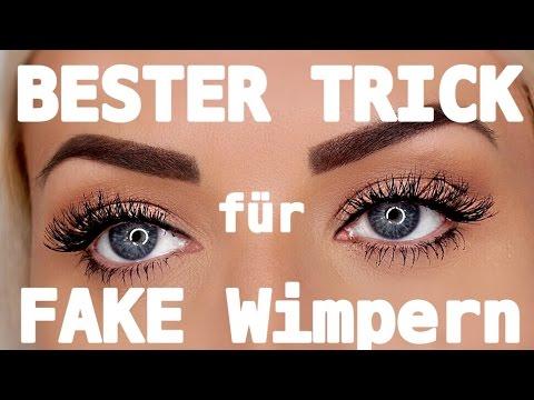 Richtig Wimpern Ankleben Der Welt Beste Trick