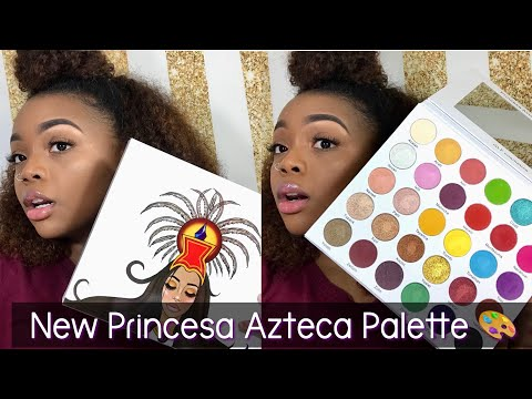 GLF Princesa Azteca Palette   Unboxing + Swatches   Made Up by Kirsten