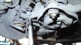 Замена нижней шаровой опоры ГАЗ 3110 Волга