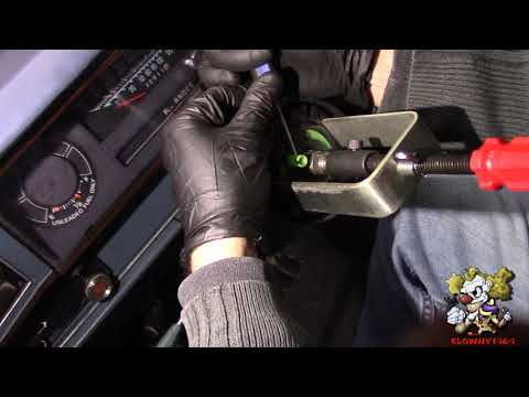 How To Replace an Ignition Cylinder – Older GM cars