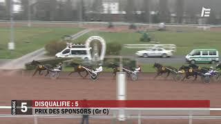 Vidéo de la course PMU PRIX DES SPONSORS (GR C)