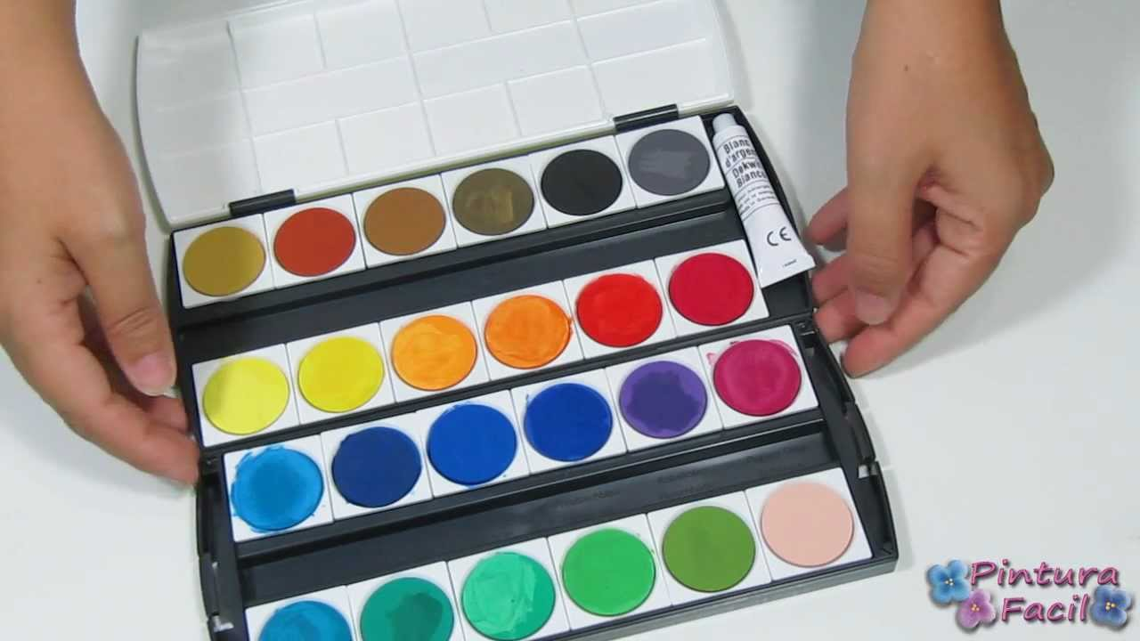 Como pintar con acuarelas how to watercolour como hacer for Pinturas para pintar