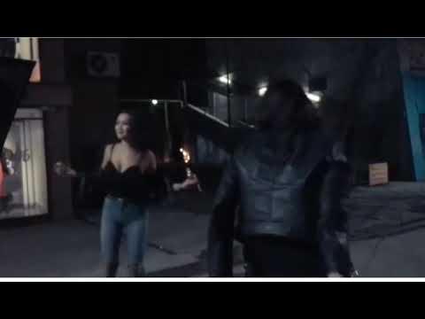 Айжан Байзакова танцы на улице Dance With The Devi